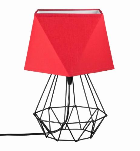 lampy łazienkowe w stylu loft czerwony